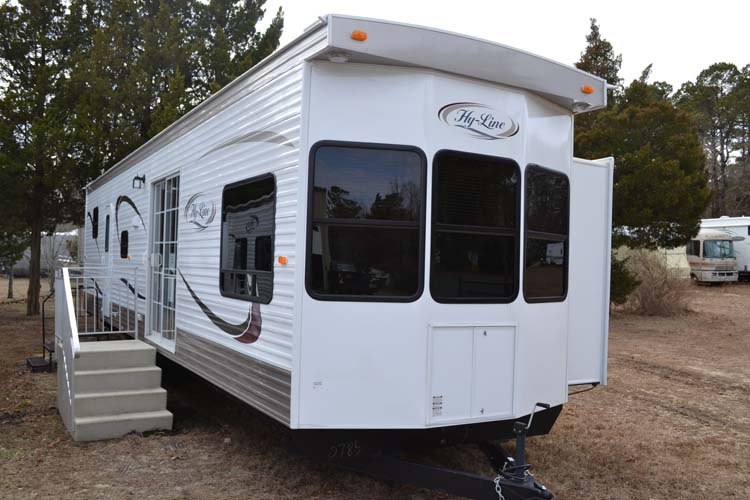 Hy Line Park Model Travel Trailers